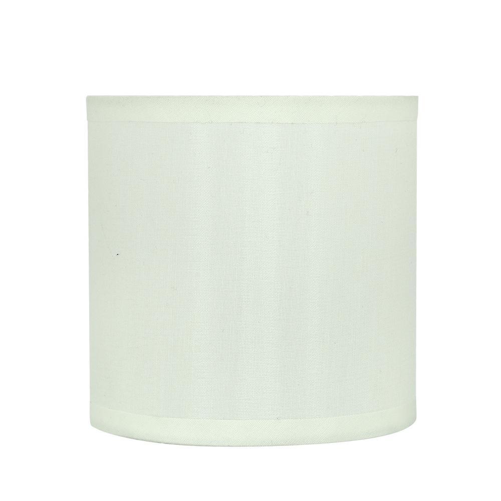 Aspen Creative Corporation 5 In X Off White Drum Lamp Shade