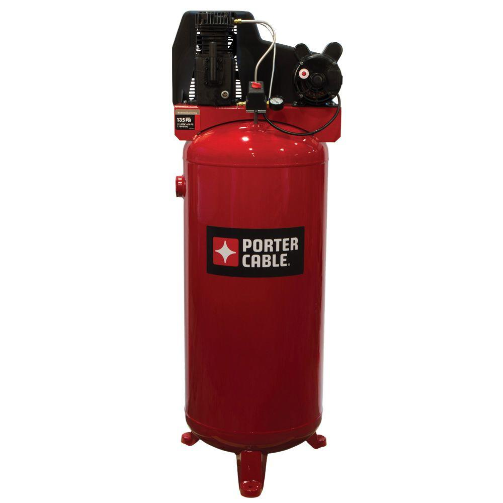 Porter-Cable 60 Gal. Vertical Stationary Air Compressor