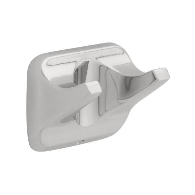Futura Double Towel Hook in Chrome