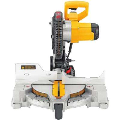 12 in. 15 Amp Compound Double Bevel Miter Saw
