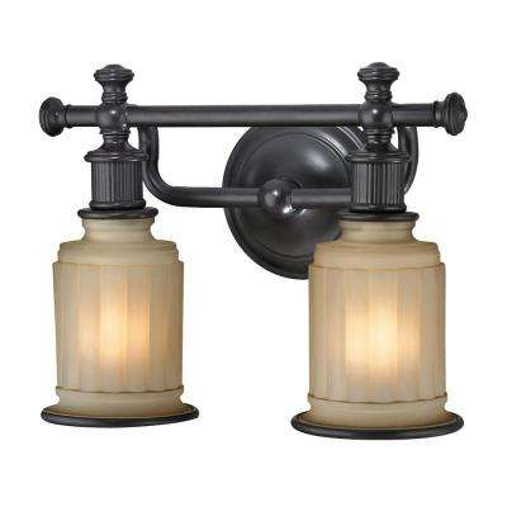 Kildare 2-Light Oil Rubbed Bronze LED Bath Light