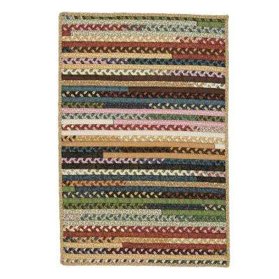 Hearth Rectangular Fifth Season 8 ft. x 10 ft. Braided Area Rug