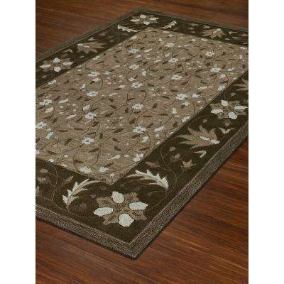 PRISTINE 1 CHOCOLATE 5 FT. X 7 FT. 6 IN.  AREA RUG