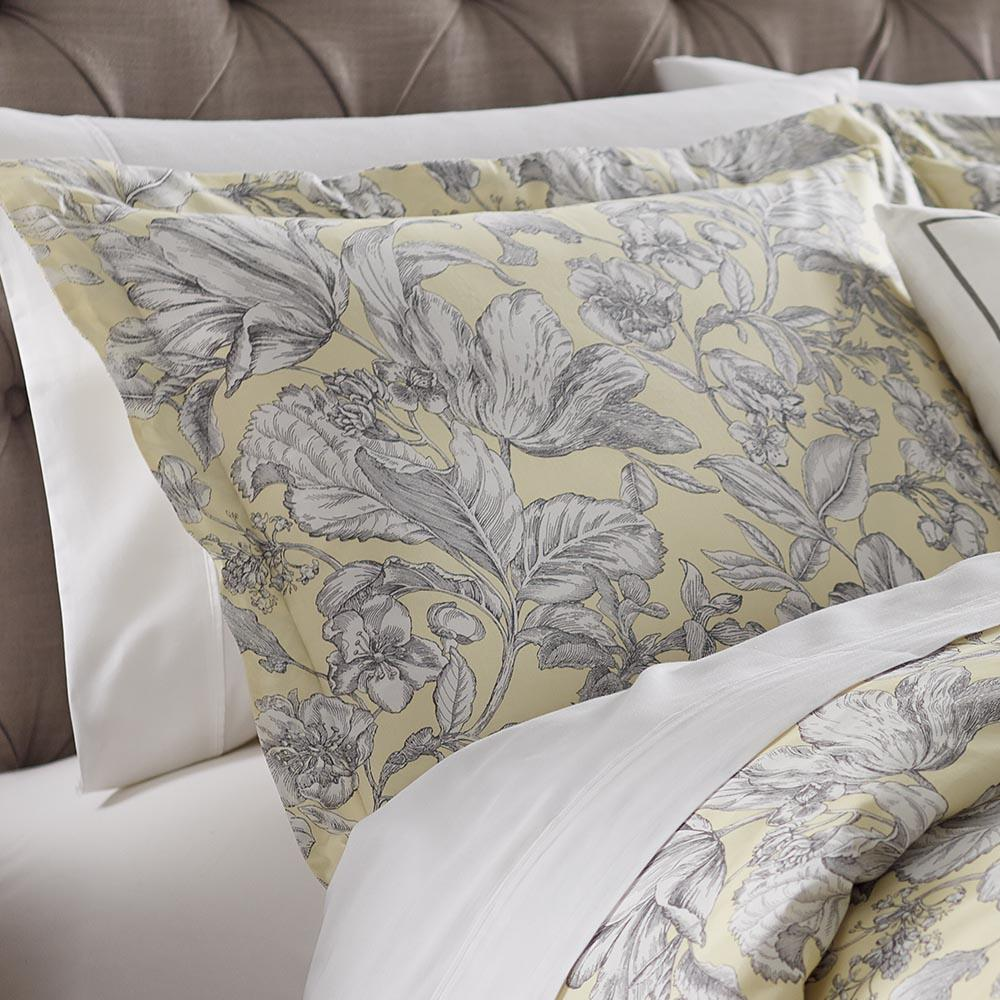 Home Decorators Collection Lillian Butter Standard Pillow Sham