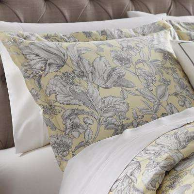 Lillian Butter King Pillow Sham
