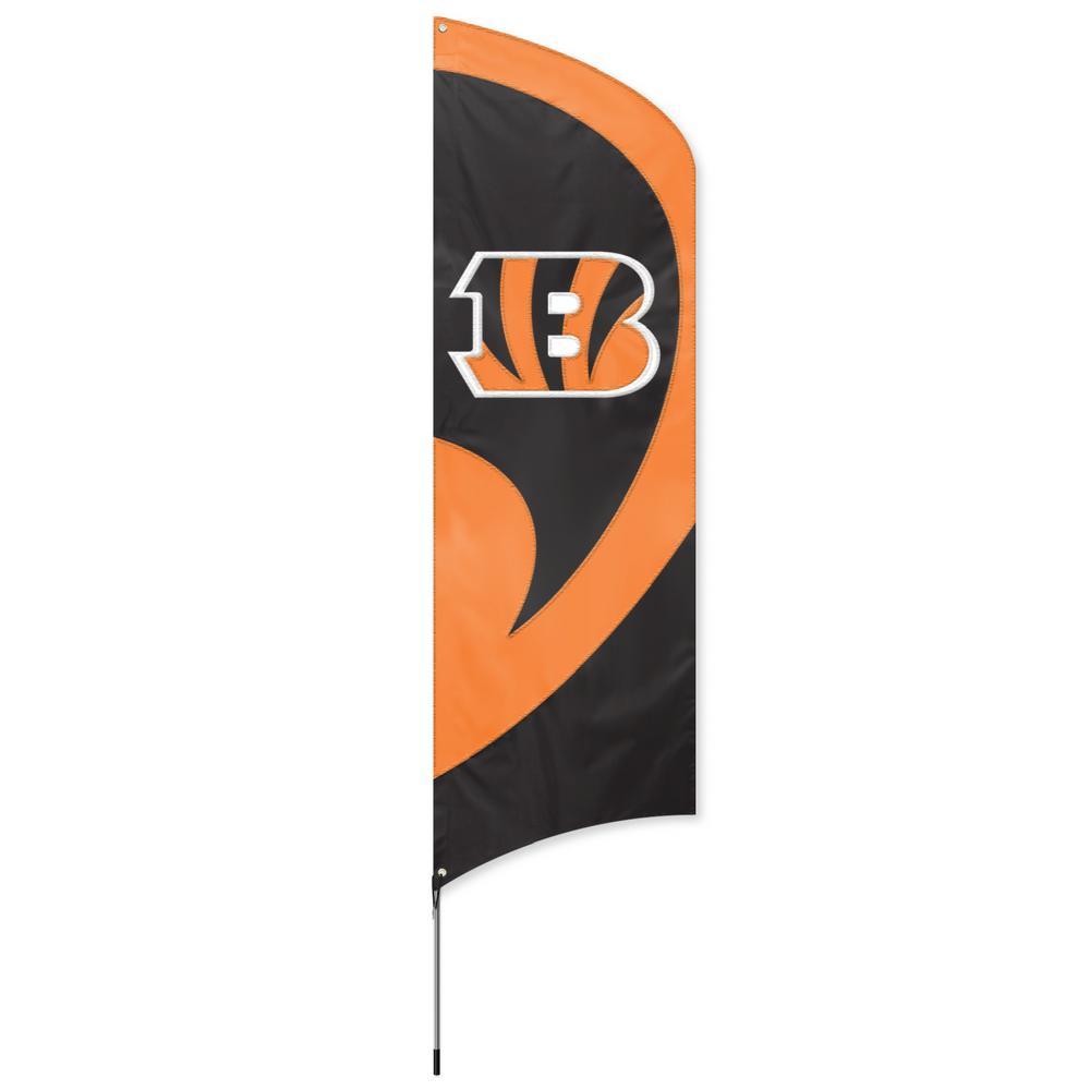 Cincinnati Bengals Tall Team Flag