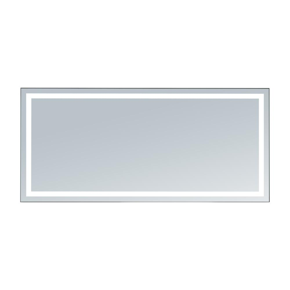 Innoci usa terra 60 in x 28 in led mirror 63406028 the for Mirror 45 x 60
