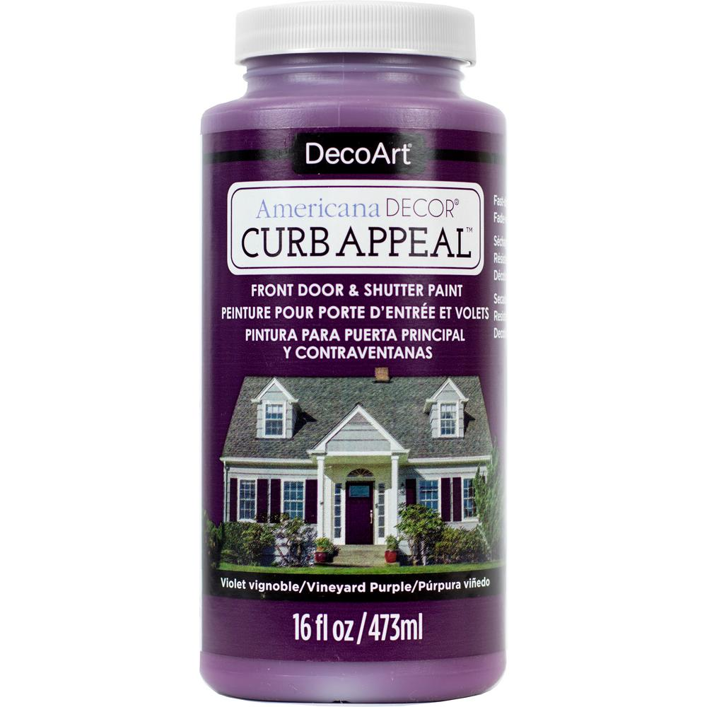 Americana Decor Curb Appeal 16 oz. Vineyard Purple Paint