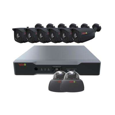 Aero HD 8-Channel 5MP 2TB Surveillance System with 8 Wired Cameras