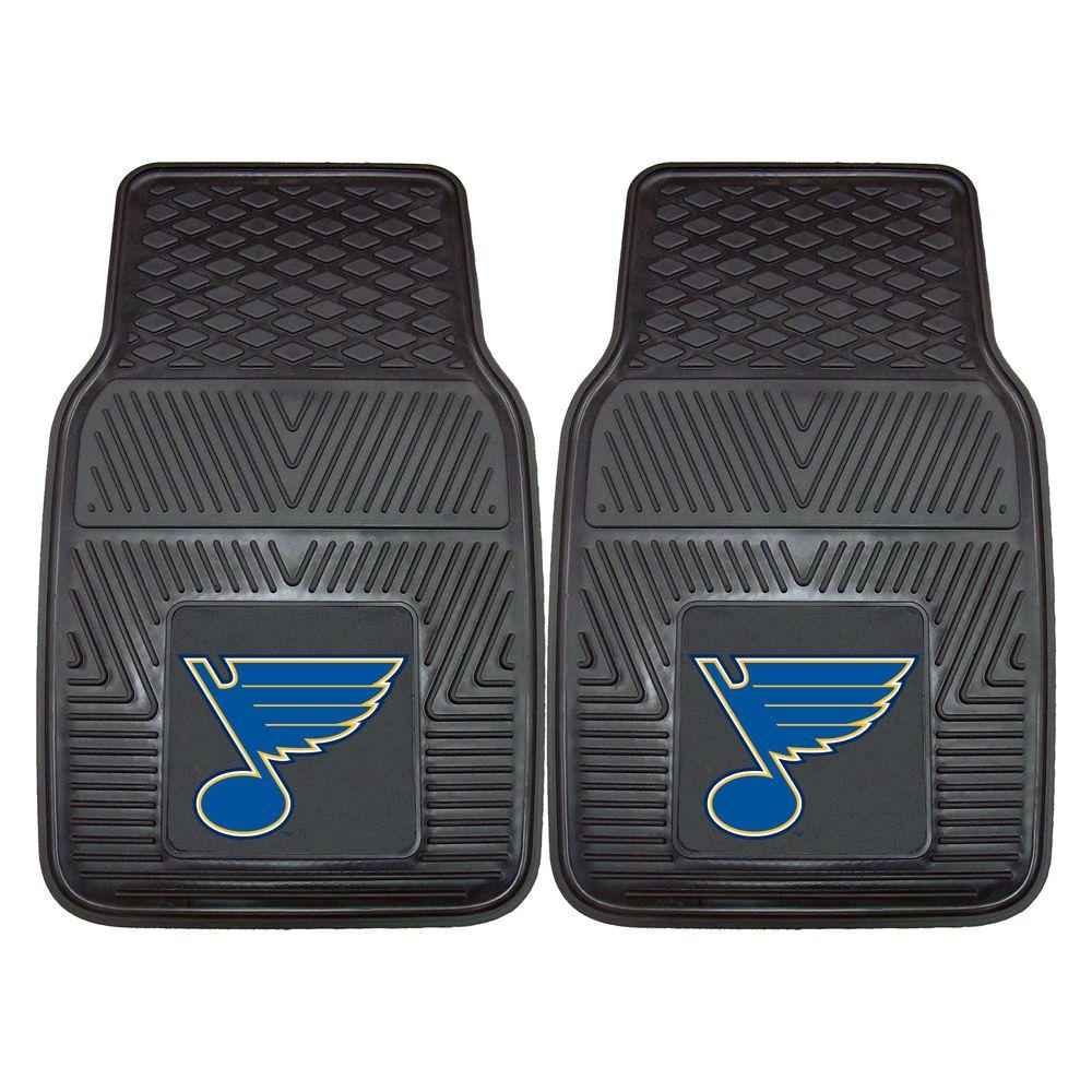 Fanmats St Louis Blues 18 In X 27 In 2 Piece Heavy Duty