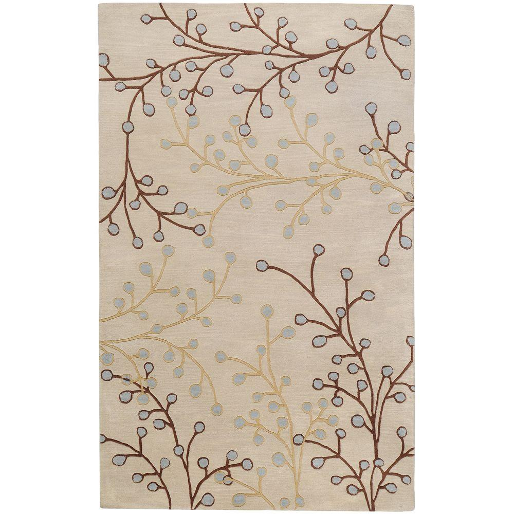 Bari Ivory 2 ft. x 3 ft. Accent Rug