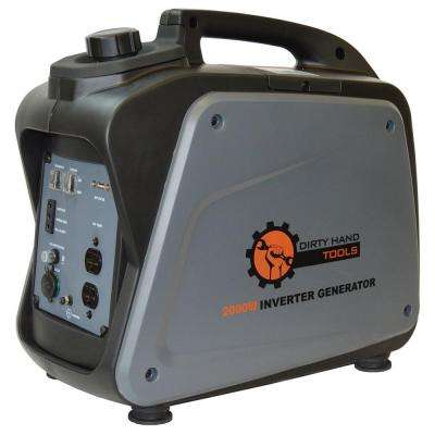1700-Watt Gasoline Powered Portable Generator with Digital Inverter Generator