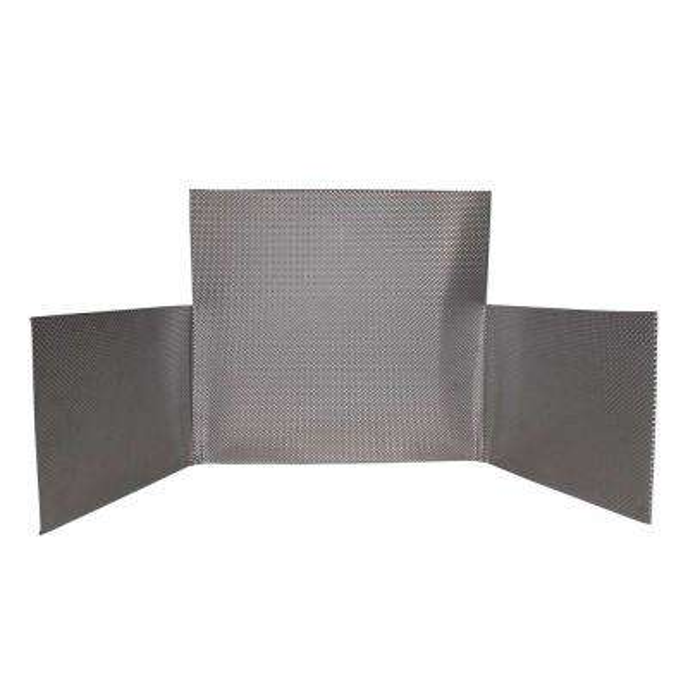 FireFlect Shield 16 - Stainless Steel Fireplace Heat Shield Insert