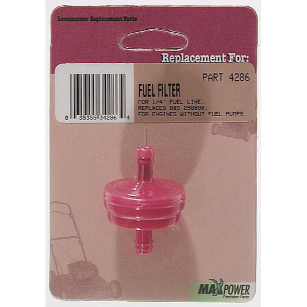[SODI_2457]   Maxpower Lawn Mower Fuel Filter-12603114 - The Home Depot | Lawn Mower Fuel Filter |  | Home Depot