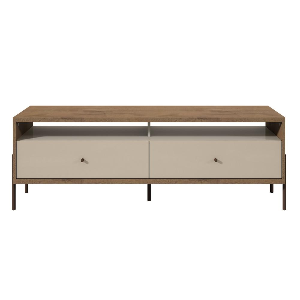 Manhattan Comfort Joy 59 In Off White Tv Stand With 2
