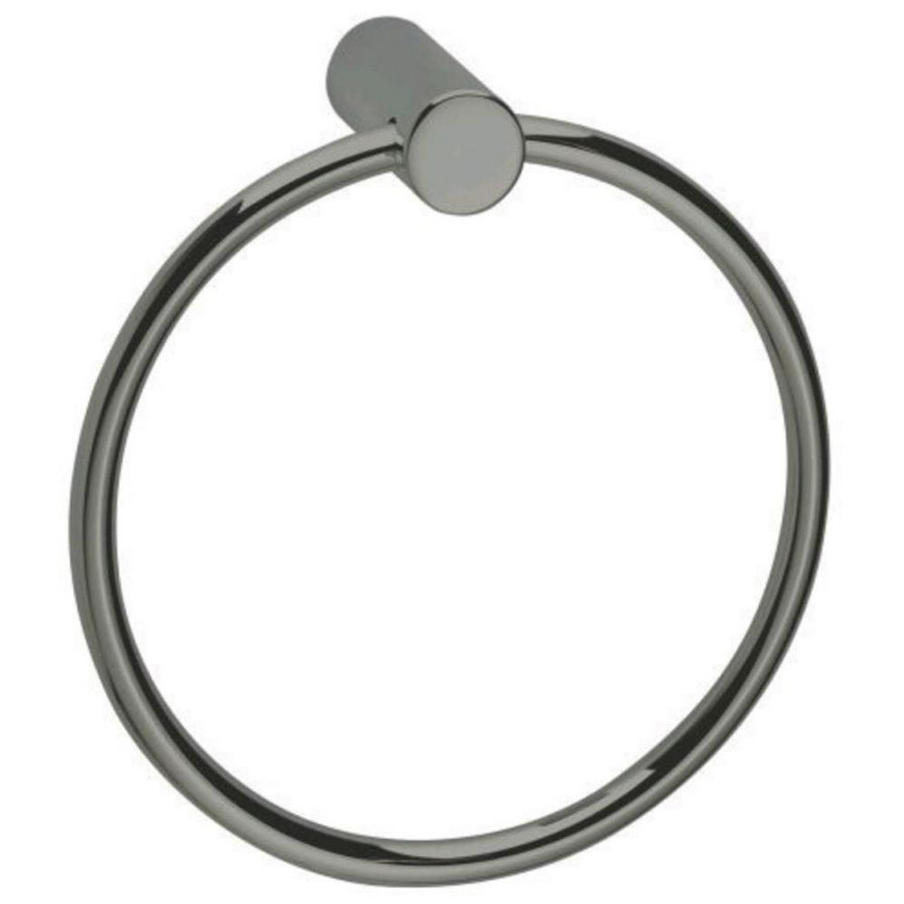 USE Bollard Towel Ring in Polished Chrome-DISCONTINUED