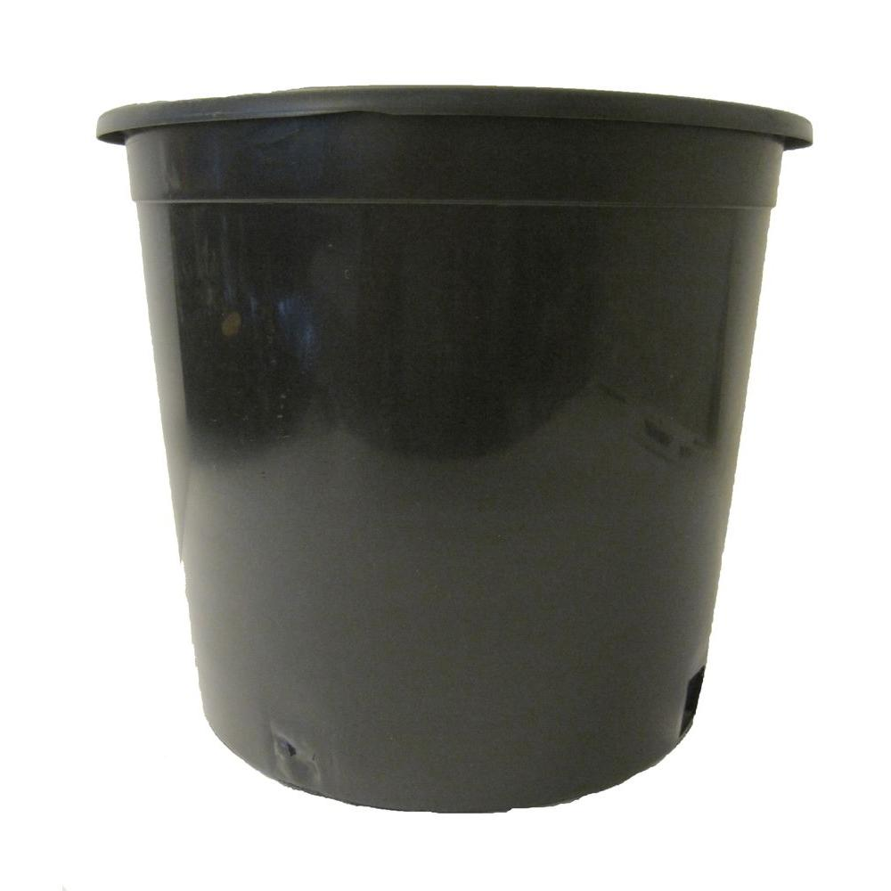 Black Plastic Nursery Pot