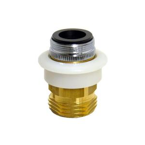 Danco 15/16 in.-27M or 55/64 in.-27F x 3/4 inch GHTM Dishwasher Snap Coupling Adapter by DANCO