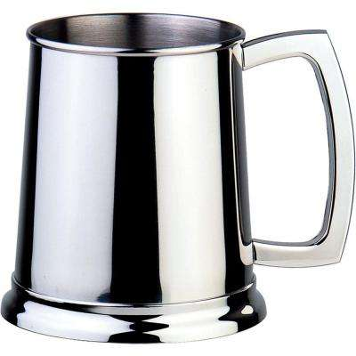 Dortmund 16 oz. Polished Stainless Steel Beer Mug