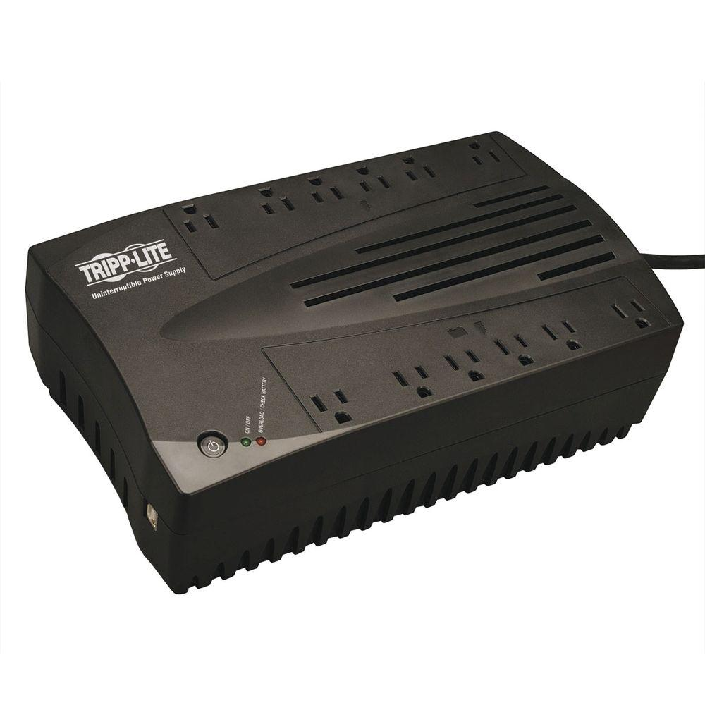 Tripp Lite 900VA 480-Watt UPS Desktop Battery Back Up AVR Compact 120-Volt USB RJ11