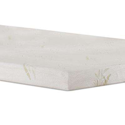 Full Size 4 in. Gel Memory Foam Mattress Topper