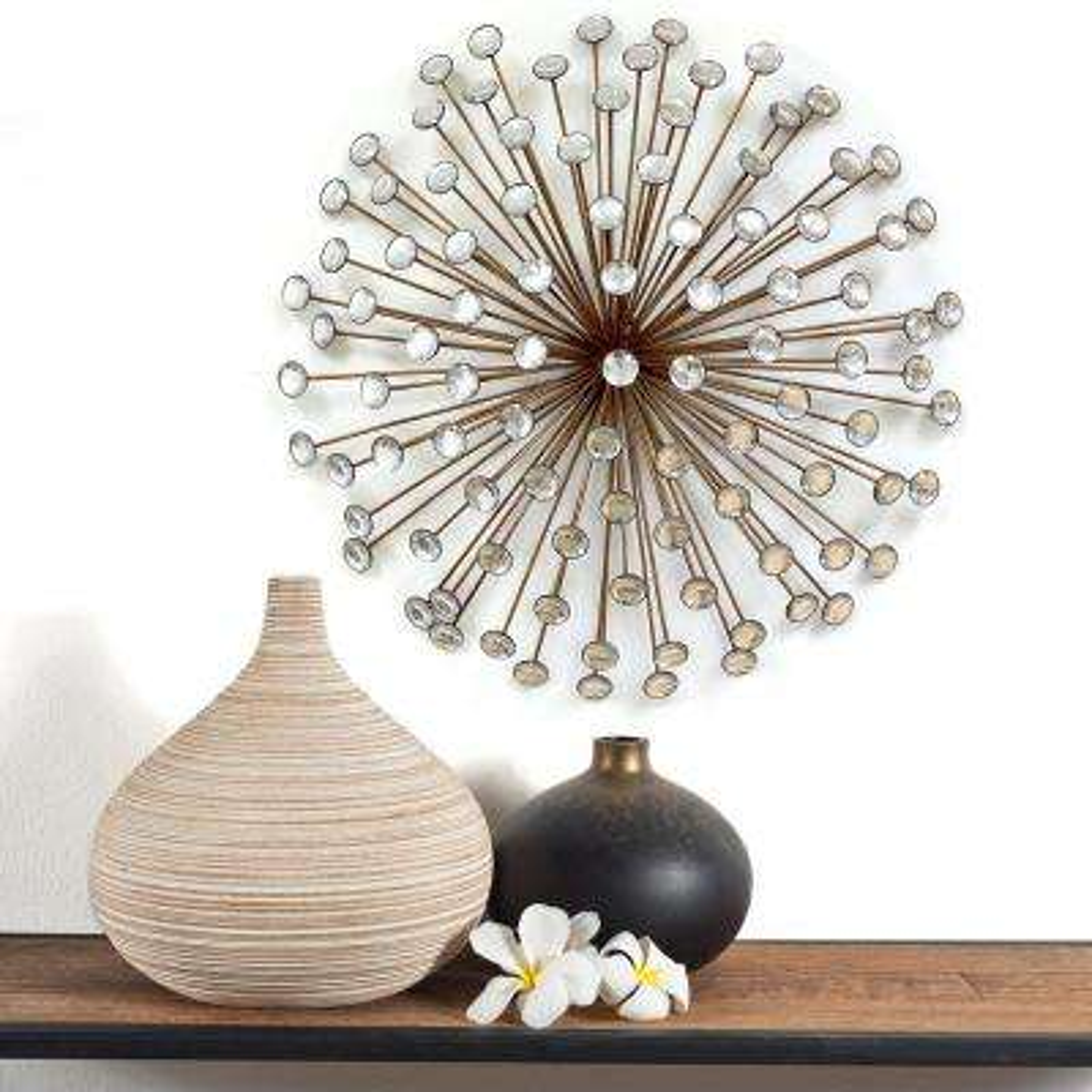Stratton Home Decor Bronze Acrylic Burst