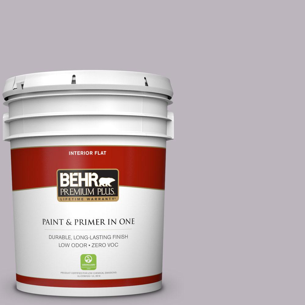 BEHR Premium Plus 5-gal. #N100-3 Future Vision Flat Interior Paint