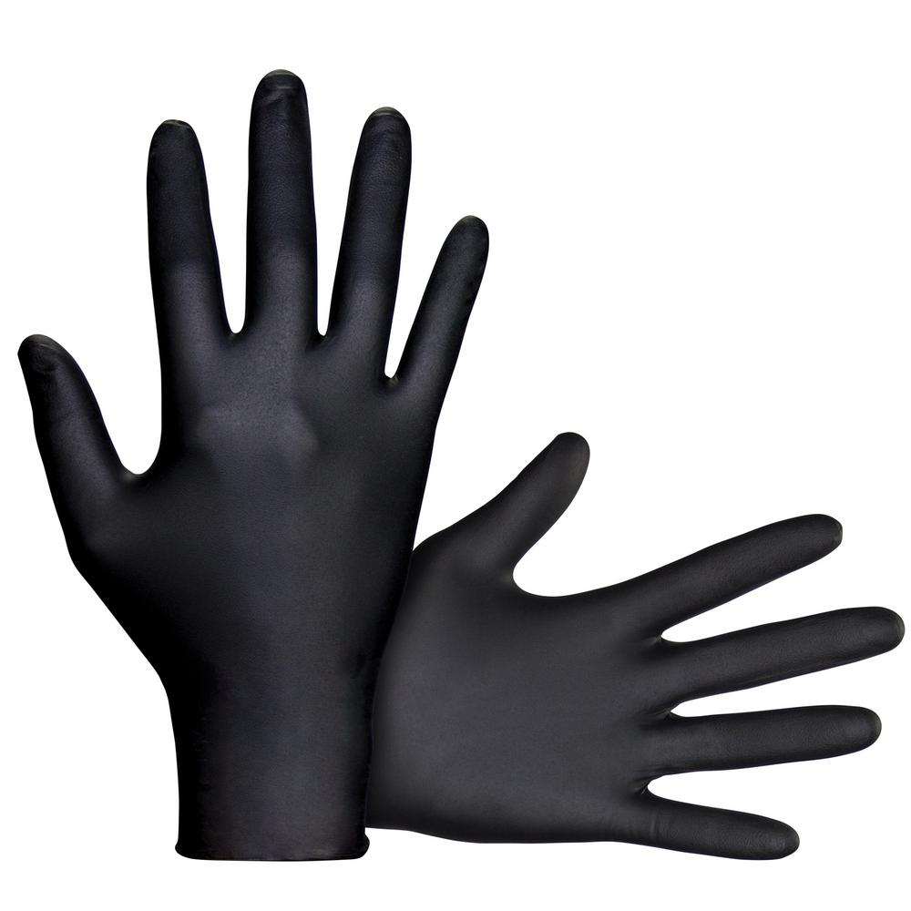 Raven X Large Powder Free 6 Mil Nitrile Disposable Gloves
