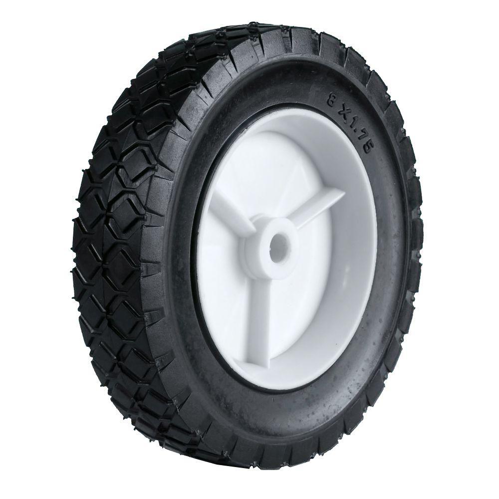 8X1.75 Light Duty Plastic Wheel