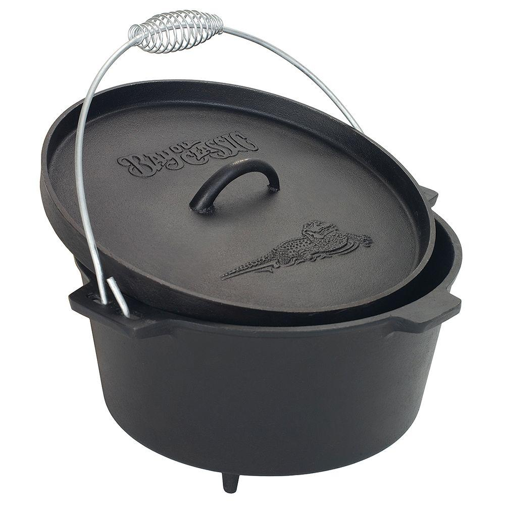8.5 Qt. Cast-Iron Dutch Oven with Feet