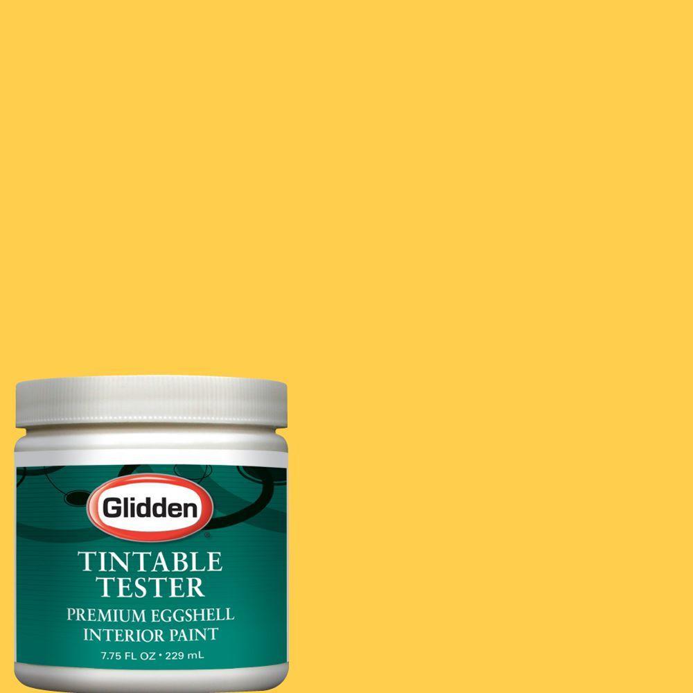 Glidden Premium 8-oz. Sunflower Interior Paint Tester