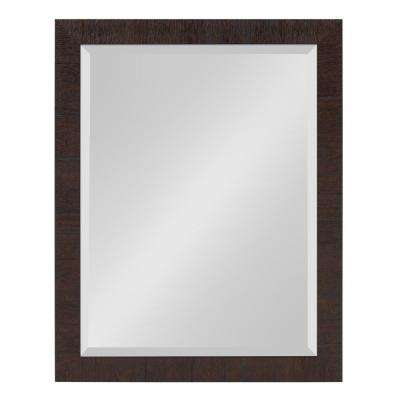 Sierra Rectangle Brown Mirror