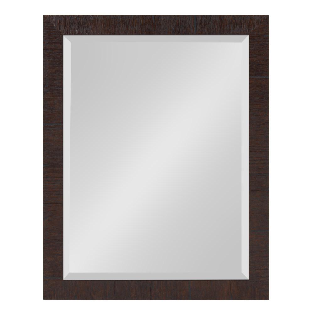 Sierra Rectangle Brown Mirror