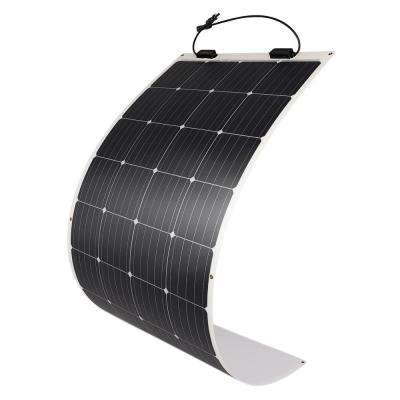 175-Watt 12-Volt Extremely Flexible Ultra-Thin and Light Weight Monocrystalline Solar Panel for RVs and Boats