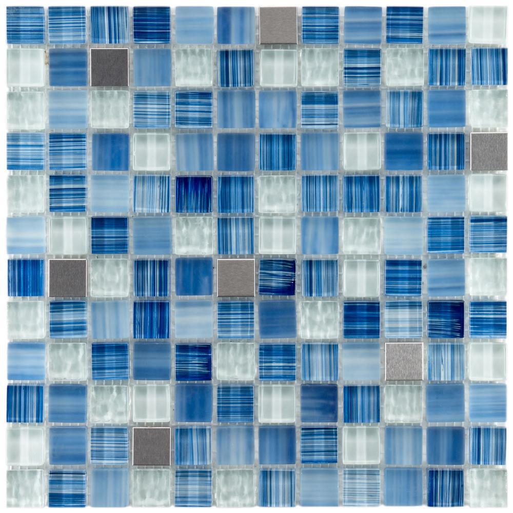 Merola Tile Tessera Square Alpine 11-5/8 in. x 11-5/8 in. x 8 mm ...