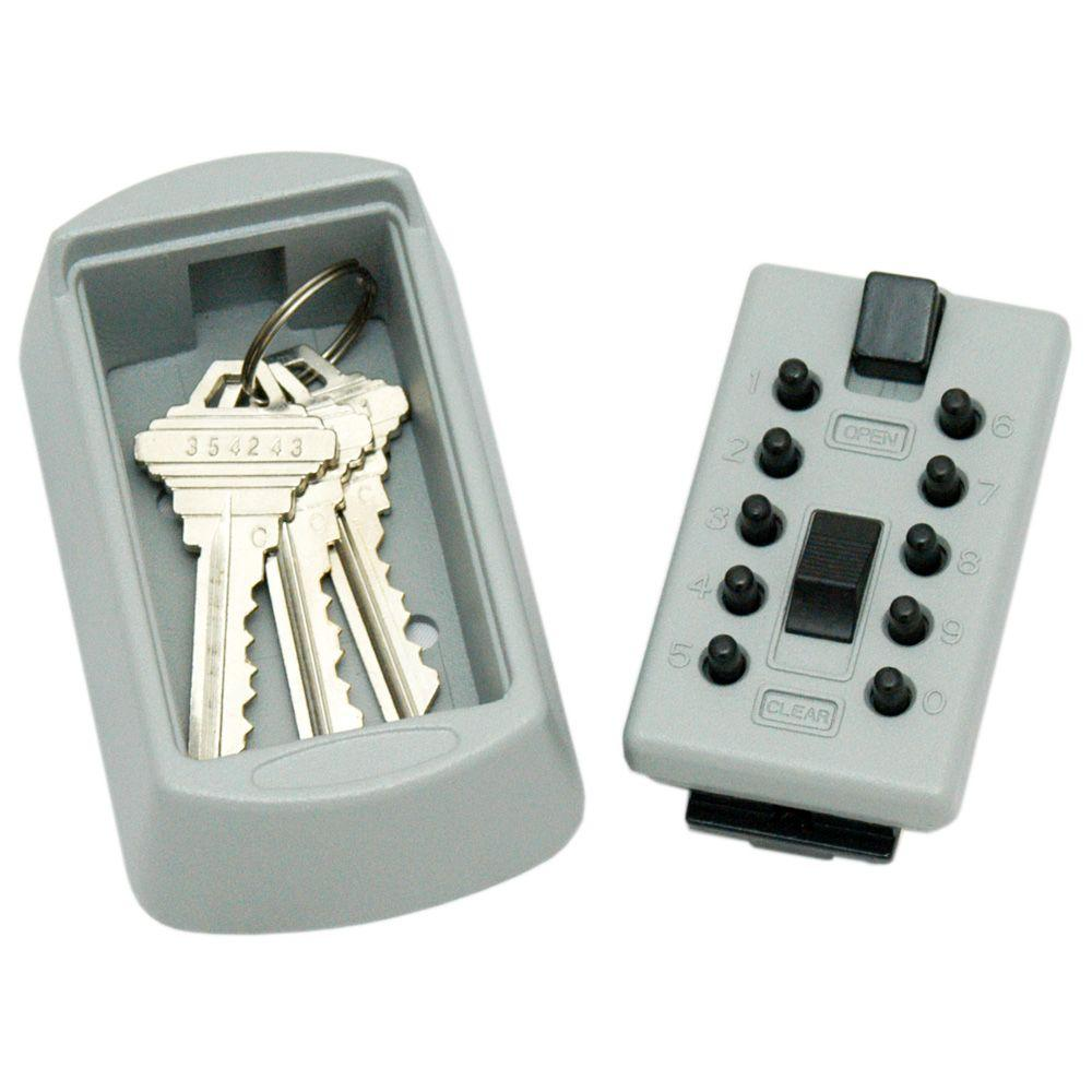 LockState KeyDock Wall Mount 5-Key Lock Box Safe-DISCONTINUED