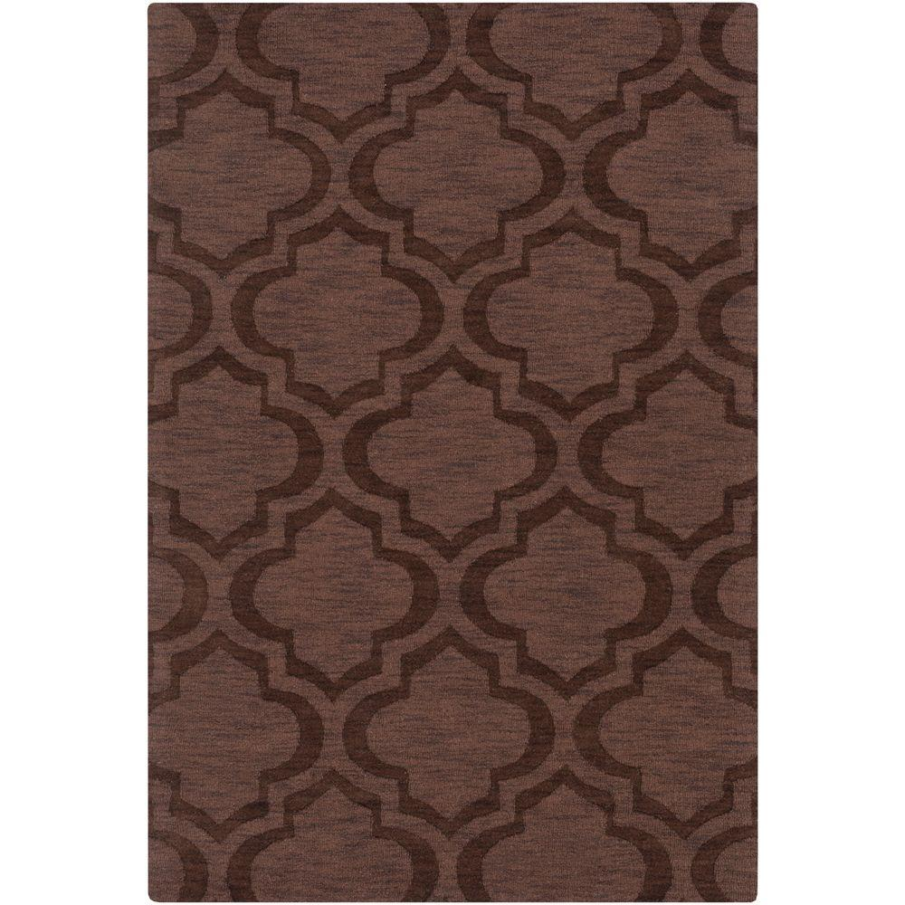 Central Park Kate Chocolate 2 ft. x 3 ft. Indoor Accent