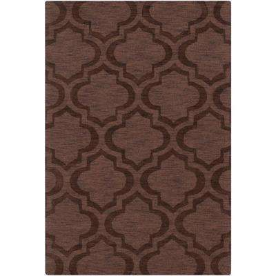 Central Park Kate Chocolate 8 ft. x 10 ft. Indoor Area Rug