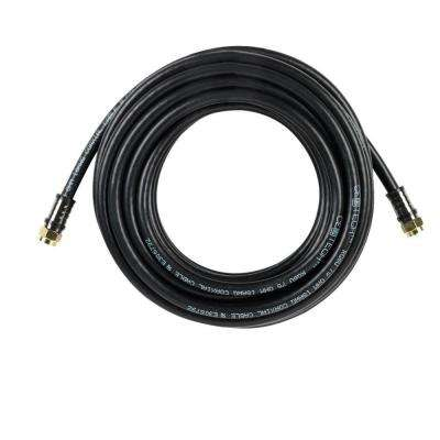 25 ft. RG-6 Coaxial Cable - Black