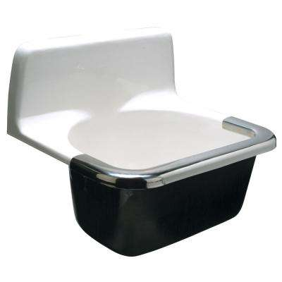 24 in. x 20 in. Custodial Floor Service Sink