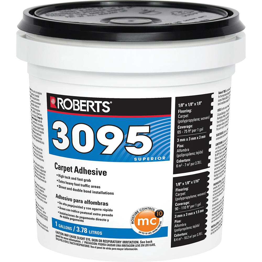 Roberts 3095 1 Gal. Superior Fast Grab Carpet Glue Adhesive