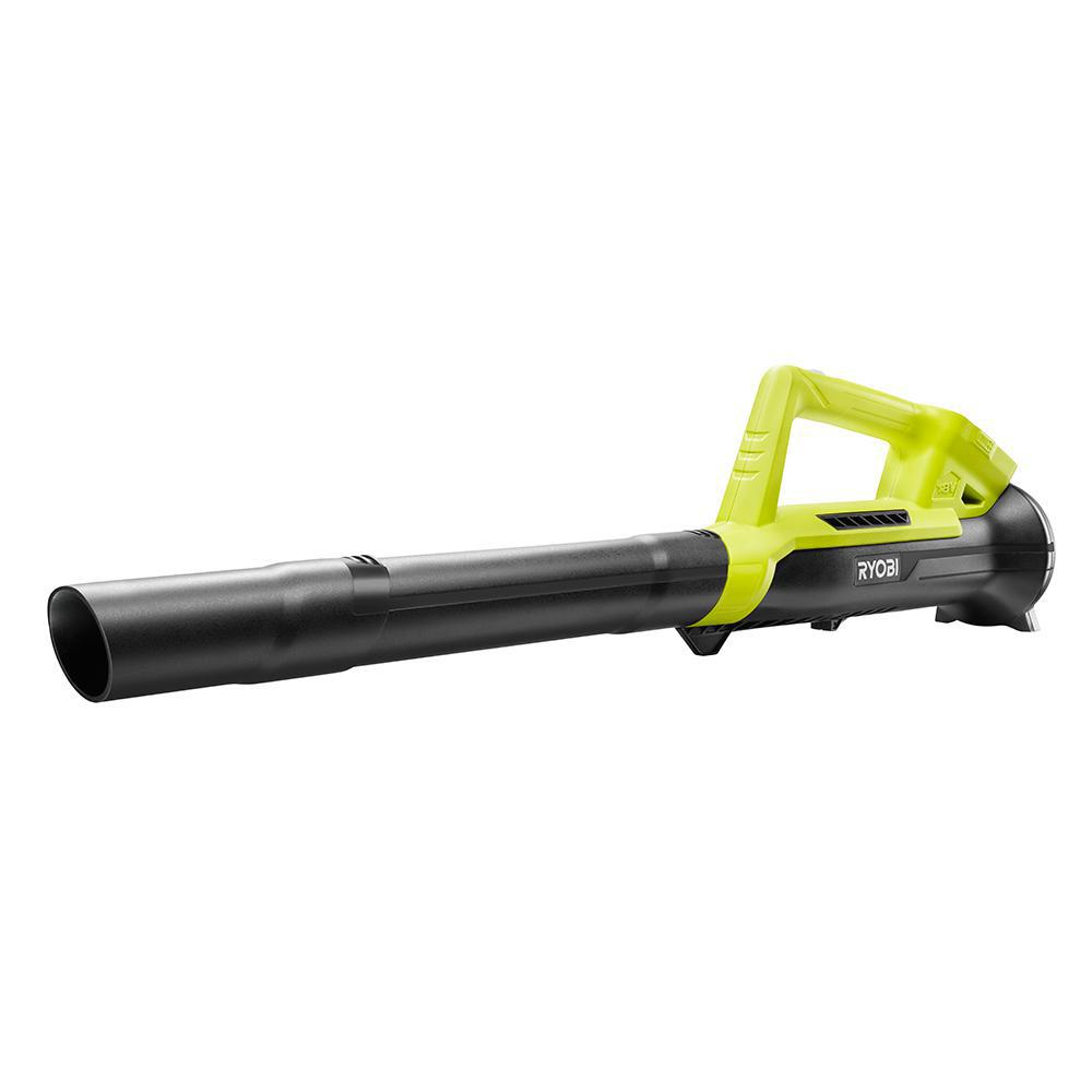 RYOBI ONE+ 90 MPH 200 CFM 18-Volt Lithium-Ion Cordless Battery Leaf Blower (Tool Only)
