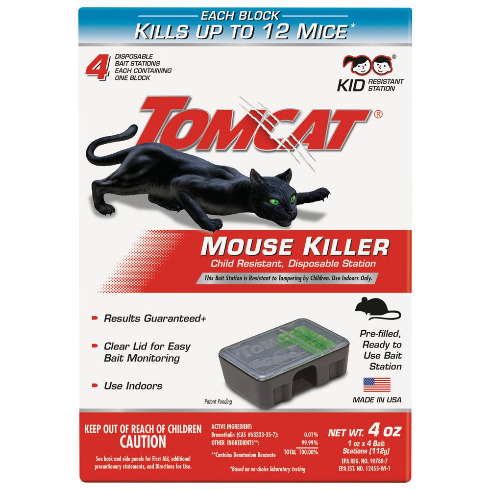 Tomcat 1 oz. Mouse Killers (4-Pack)