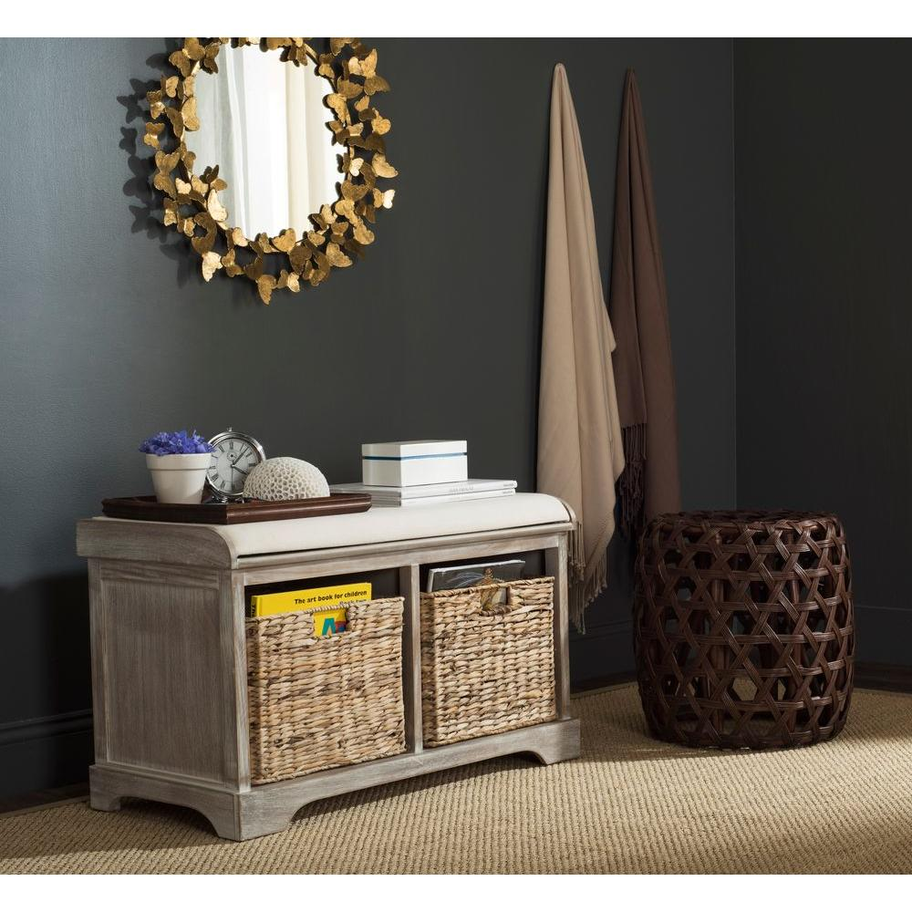 Safavieh Freddy Winter Melody Storage Bench