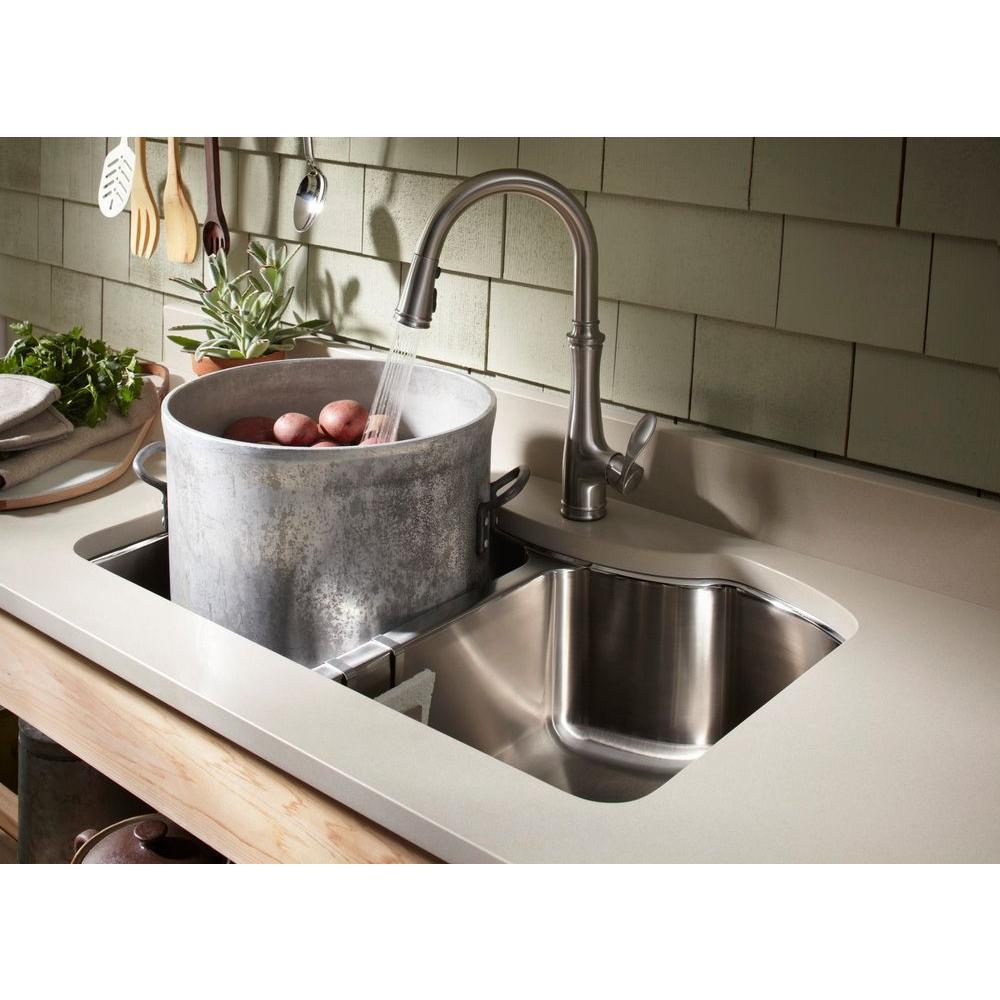 Kohler K 560 2bz Bellera Pull Down Kitchen Faucet Oil Rubbed Bronze Kitchen Bathroom Fixtures Bathtub Faucets Urbytus Com