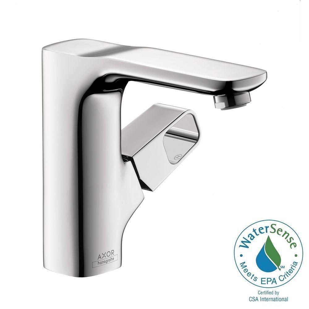 Axor Urquiola Single Hole Single-Handle Bathroom Faucet in Chrome