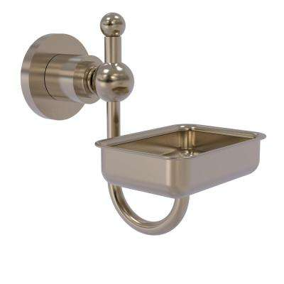 Astor Place Wall Mounted Soap Dish in Antique Pewter