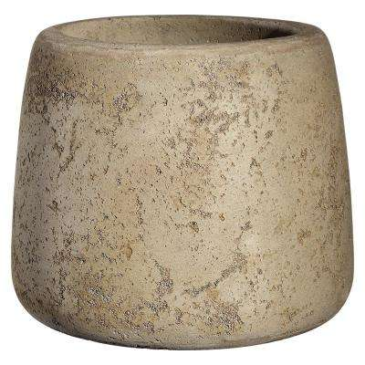 Mod 17 in. Natural LavaStone Planter