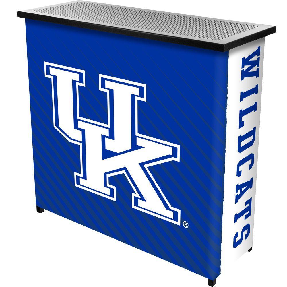 University of Kentucky Text 2-Shelf Black Bar with Case
