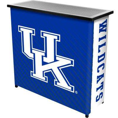 University of Kentucky Text 2-Shelf Black Bar with Case